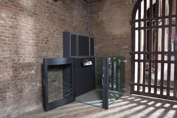 Miniascensore minisirio ascensori per disabili for Piani domestici accessibili ai disabili